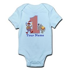First Birthday Circus Infant Bodysuit