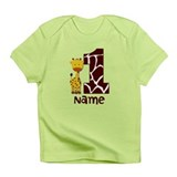 First Birthday Giraffe Infant T-Shirt