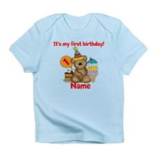 First Birthday Bear Infant T-Shirt
