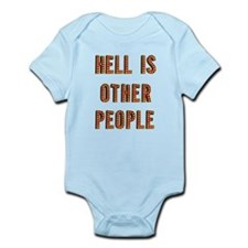 Funny Fun people Infant Bodysuit