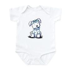 Cutie Face Maltese Infant Bodysuit