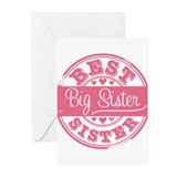 Best Big Sister Greeting Cards (Pk of 10)