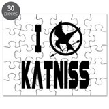 Hunger Games I Love Katniss Puzzle