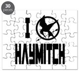 I Love Haymitch Hunger Games Puzzle