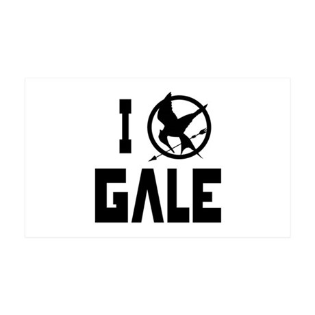I Love Gale Hunger Games 38.5 x 24.5 Wall Peel