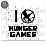I Love Hunger Games Puzzle