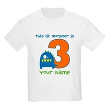 3rd Birthday Monster T-Shirt