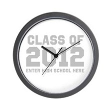 2012 Graduation Wall Clock
