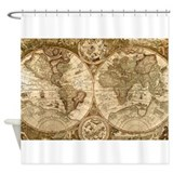 Cute World Shower Curtain
