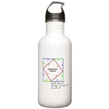 Pythagorean Theorem Proof Water Bottle