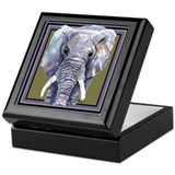 Ellie the Elephant Keepsake Box