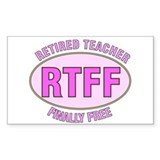 Retired Teacher IV Decal