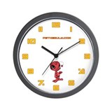 Red N.E.L.F Wall Clock