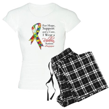 For Hope Autism Ribbon Women's Light Pajamas