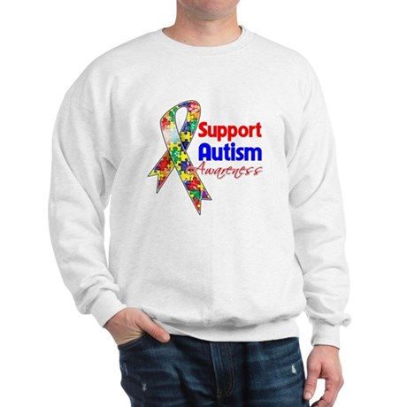Support Autism Awareness Sweatshirt