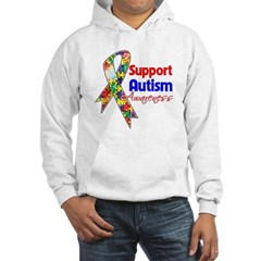 Support Autism Awareness Hooded Sweatshirt
