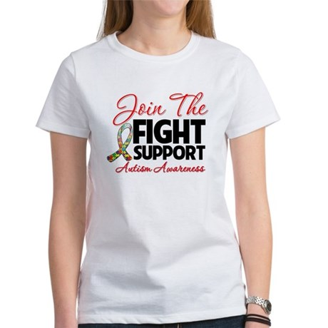 Join The Fight Autism Women's T-Shirt