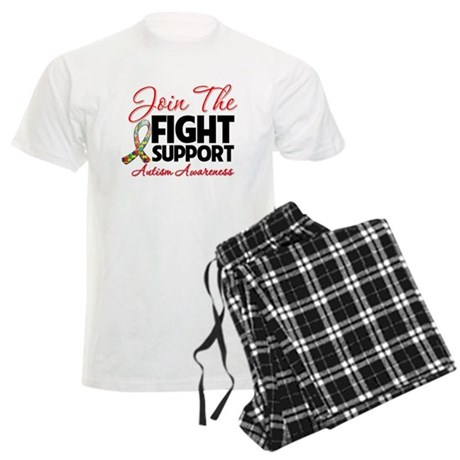Join The Fight Autism Men's Light Pajamas