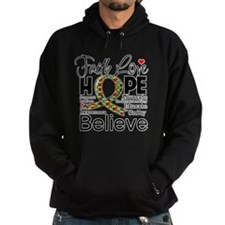 Faith Love Hope Autism Hoody