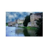 Leeds Castle 01 - Rectangle Magnet (100 pack)