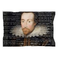 Shakespeare, Text of Hamlet, Pillow Case