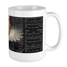 Shakespeare, Text of Hamlet, Coffee Mug