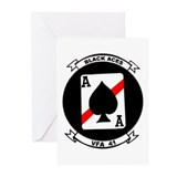 VFA 41 Black Aces Greeting Cards (Pk of 10)