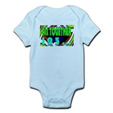 all together now 123 Infant Bodysuit