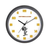 Grey N.E.L.F Wall Clock
