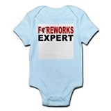 Fireworks Expert Infant Creeper