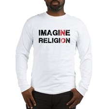 Imagine Religion Long Sleeve T-Shirt