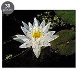 White Lotus Flower Puzzle