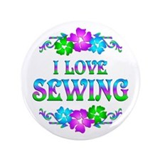 "Sewing Love 3.5"" Button (100 pack)"