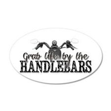 Grab Life By The Handlebars Wall Sticker