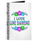 Line Dancing Love Journal