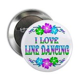 "Line Dancing Love 2.25"" Button"