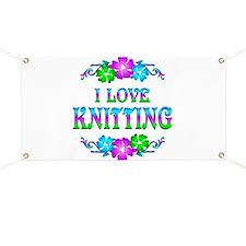 Knitting Love Banner