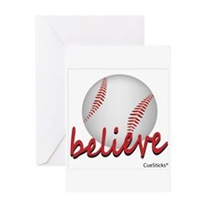 Believe (baseball) Greeting Card
