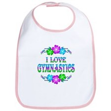 Gymnastics Love Bib
