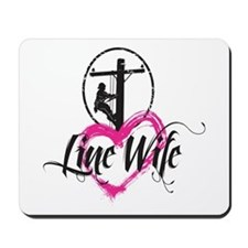 Line Wife Mousepad