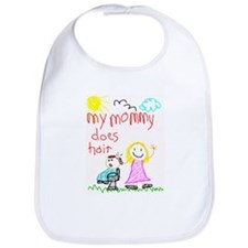 Hairstylist Mommy Bib