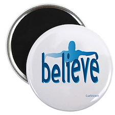 "Believe Swim 2.25"" Magnet (10 pack)"
