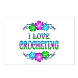 Crocheting Love Postcards (Package of 8)