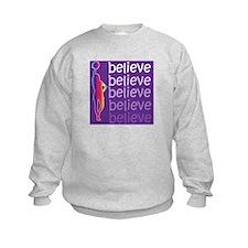 Believe (cheer) Sweatshirt