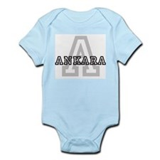 Letter A: Ankara Infant Creeper