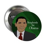 Shepherds for Obama political button