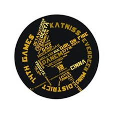 "Hunger Games 3.5"" Button"