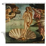 Botticelli The Birth Of Venus Shower Curtain