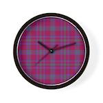 Tartan - Fiddes Wall Clock