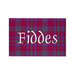 Tartan - Fiddes Rectangle Magnet (10 pack)